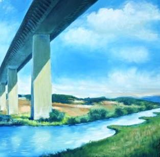 "Werner Freise, ""Ruhrtalbrücke"""