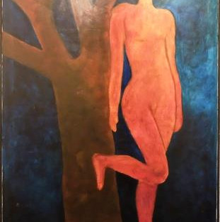 "Eugen Tolksdorf, ""Figur in Rot"""
