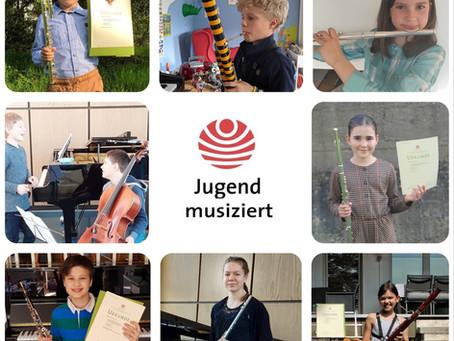 """TOP-Ergebnisse für Schülerinnen und Schüler der Musikschule Kettwig e.V. bei """"Jugend musziert"""""""
