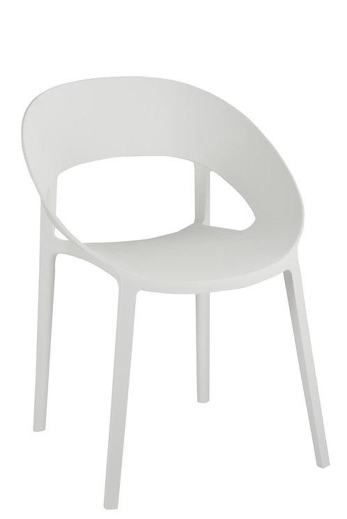 Chaise Lola Polypropylene Blanc