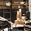 Thumbnail: Chaise+Coussin Roco Rotin Noir