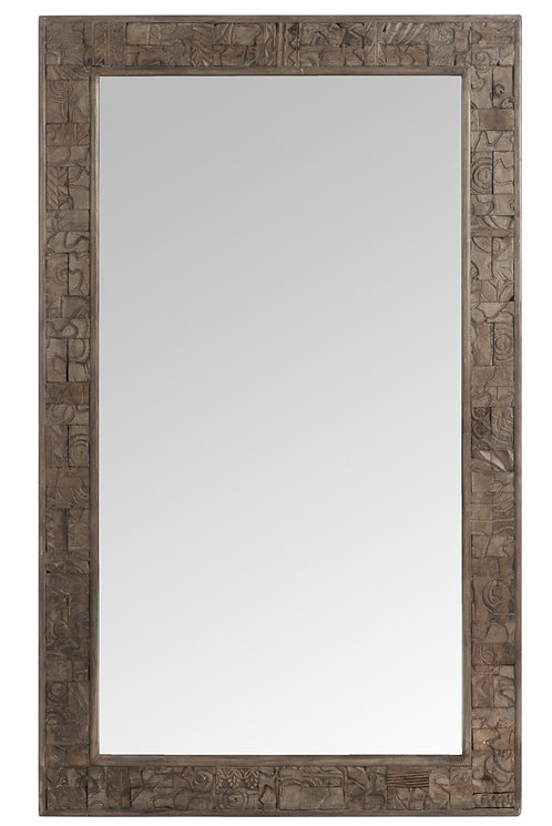 Mirroir Bois Naturel