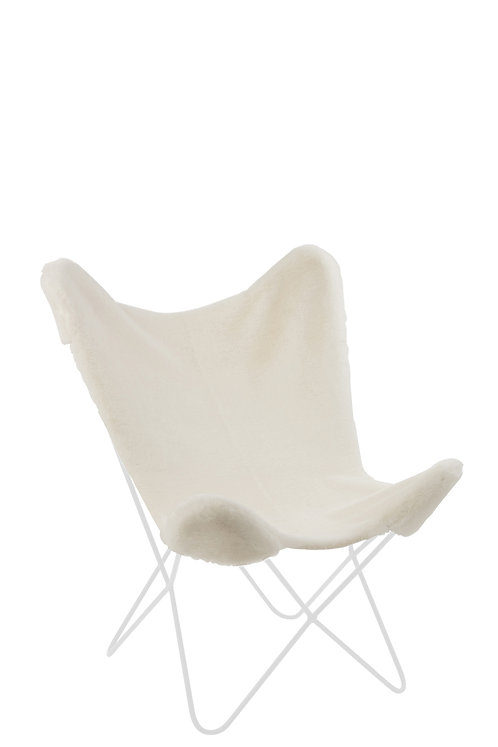 Chaise Butterfly Cutie Blanc