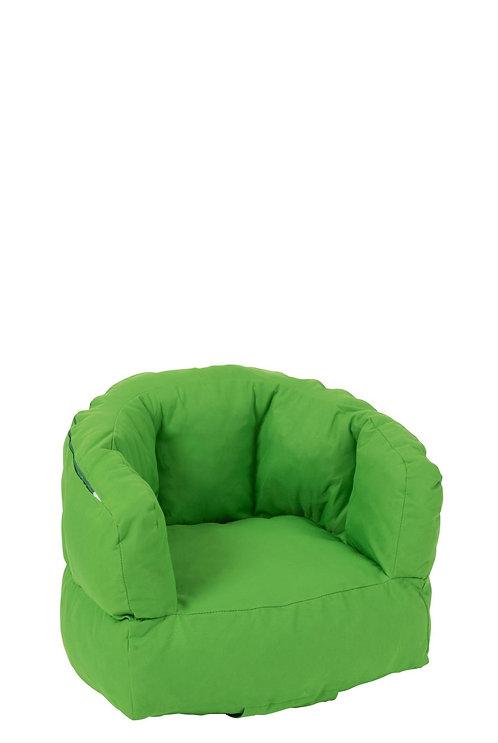 Fauteuil Enfant Bas Polyester Vert