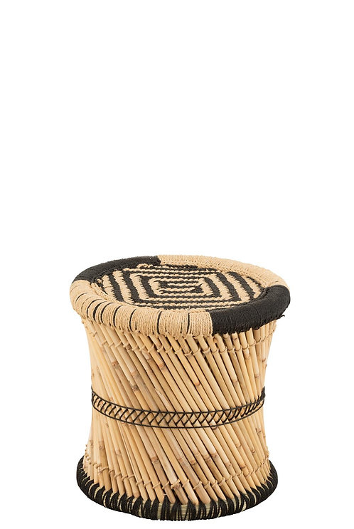 Tabouret à Motifs Bambou