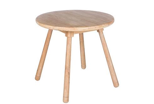 Table D'enfant Ronde Bois Naturel