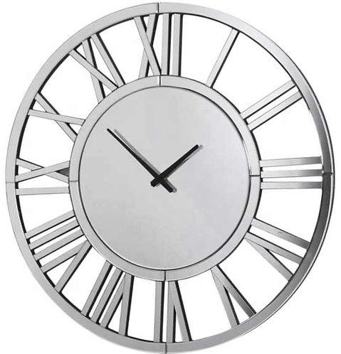 Horloge miroir ronde L