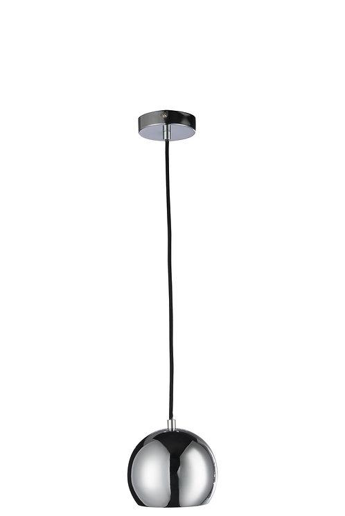 Lampe Pendante Boule Metal Argent