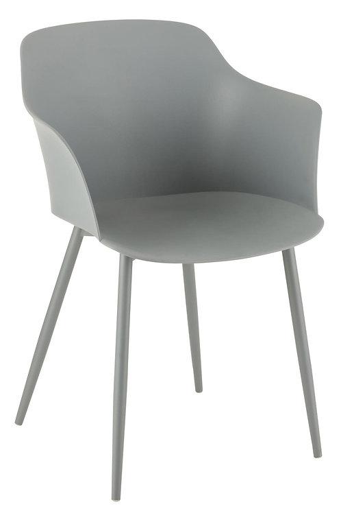 Chaise Cuve Polypropylène Gris