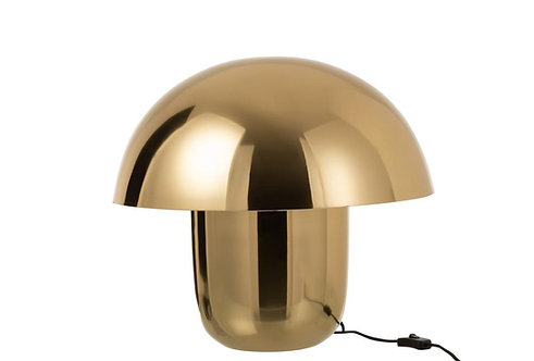 Lampe Champignon Metal Or