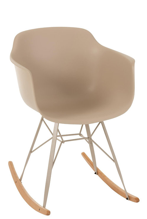 Chaise Willy A Bascule Beige
