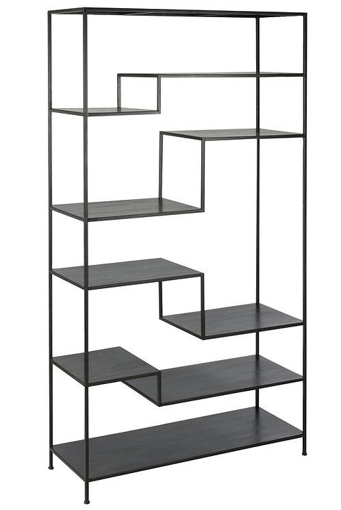 Etagere 6 Etages Metal Noir
