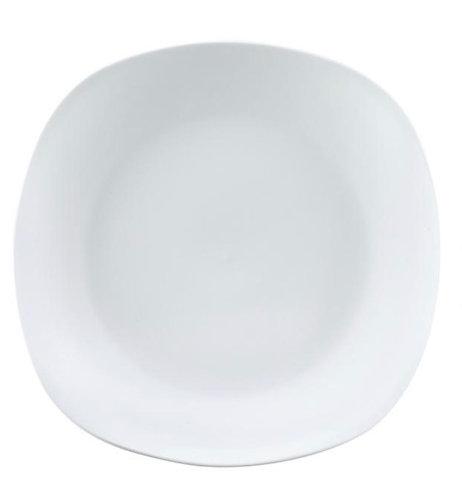 Assiette plate carré S