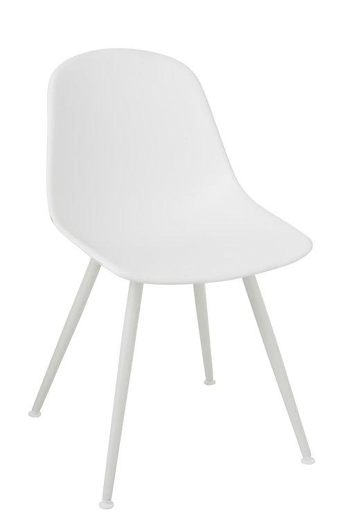 Chaise Bea Polypropylene Blanc