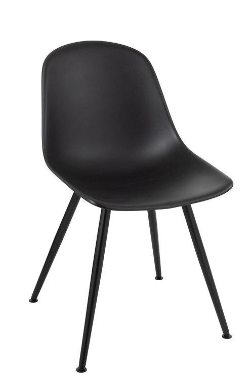 Chaise Bea Polypropylene Noir