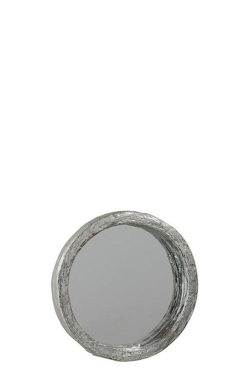 Miroir Resine Argent