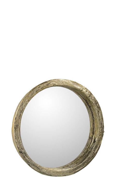 Miroir Resine Or