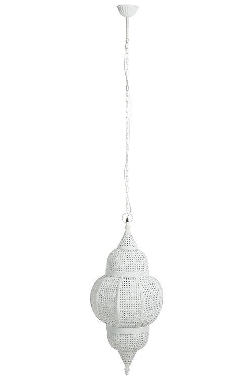 Lampe orientale blanc antique