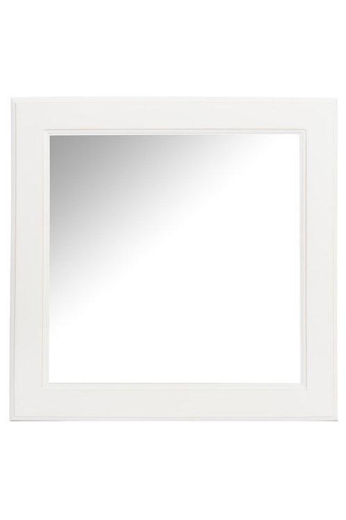 Miroir Carré Bois Blanc