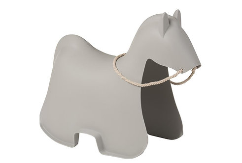 Chaise Enfant Cheval Gris