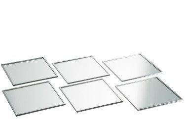 Boîte de 6 sous-verres carrés