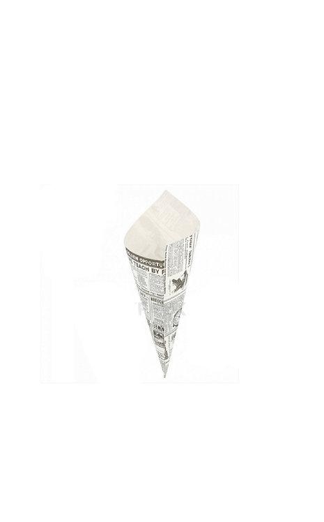 Cornet papier ingraissable x50