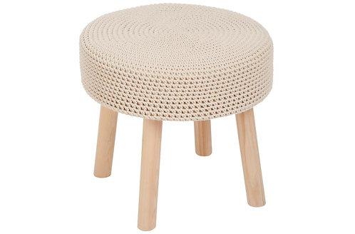 Table Gigogne Coton Crochet Beige
