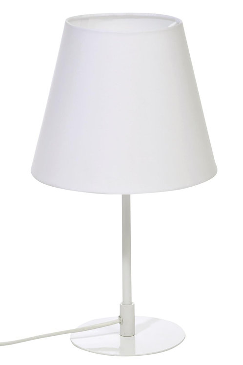 Lampe De Table Oblique Metal Blanc