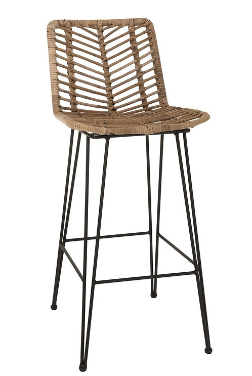 Tabouret De Bar Metal Noir