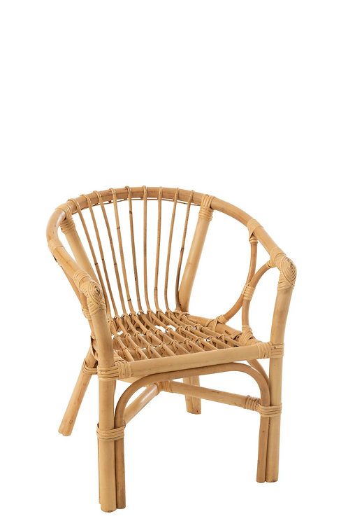 Chaise Enfant Filou Rotin Naturel