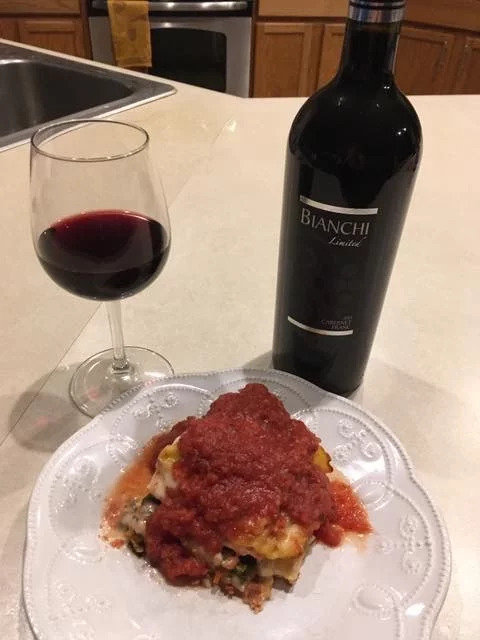 Vegan Lasagna/Vegan Rollatini