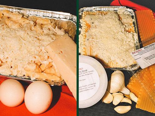Chicken Lasagna/Chicken Alfredo