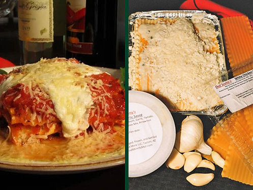 Two Meat Lasagna/White Chicken Lasagna