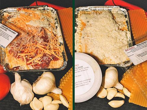 SW Three Meat Lasagna/White Chicken Lasagna