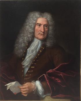 Portrait, huile sur toile, 1735