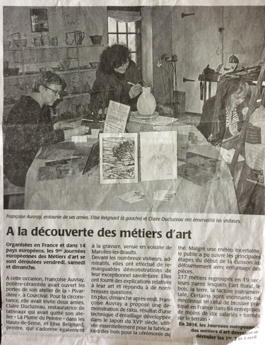 Ouest France, 30 mars 2015