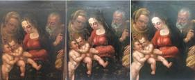 sainte famille, XVIIIe