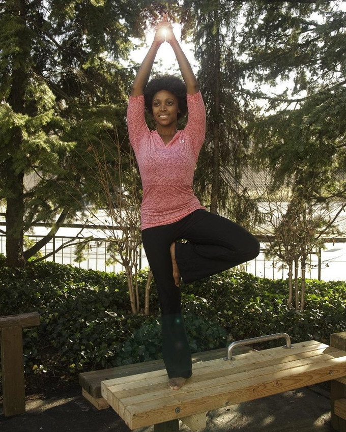 Print and Fitness Modeling: Tree Pose