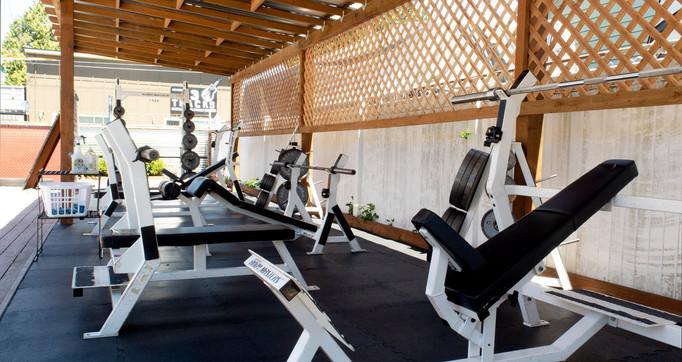 Outdoor Weight Room