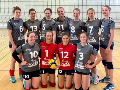 SWAN unterstützt Damen-Volleyball-Mannschaft der SGS Erlangen