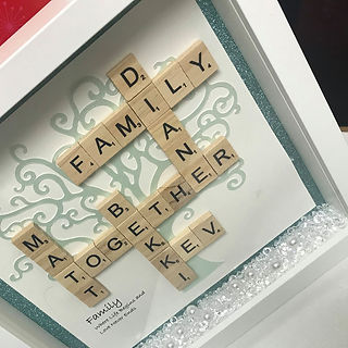 Scrabble Frame