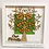 Thumbnail: NAMRUT - Personalised Wooden Family Tree Frame 25 x 25