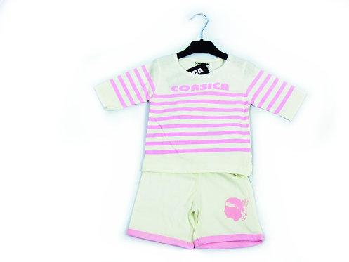 ENS BABY MARIN BLC/ROSE