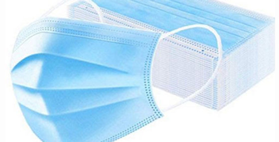 3Ply Face Protection Masks (Pack of 100)
