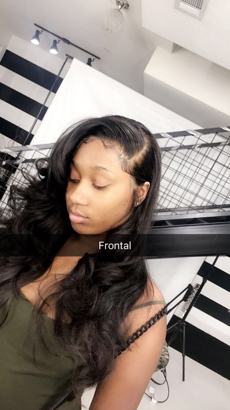 Sew in with Frontal