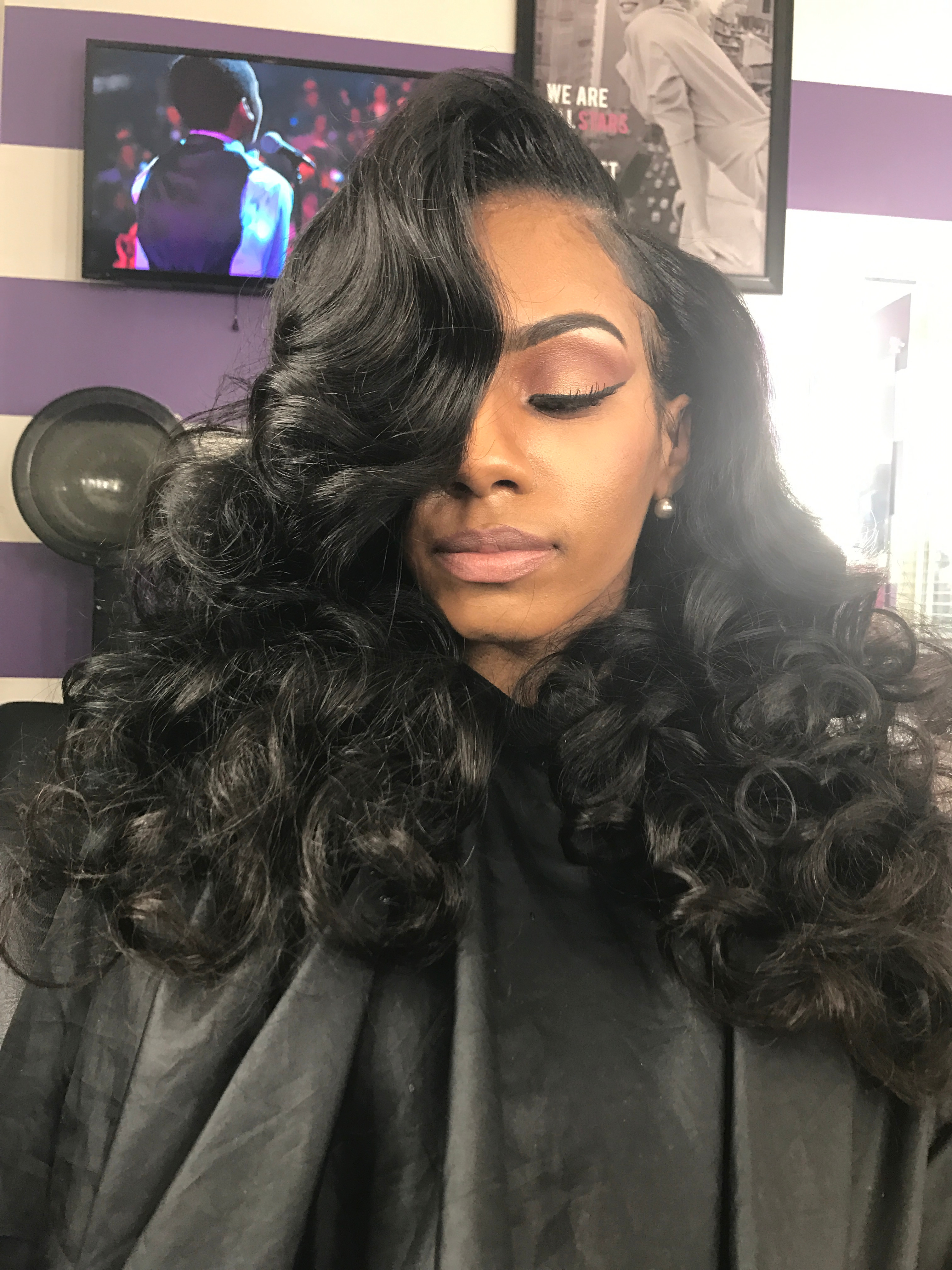 Traditional  Sew In Install