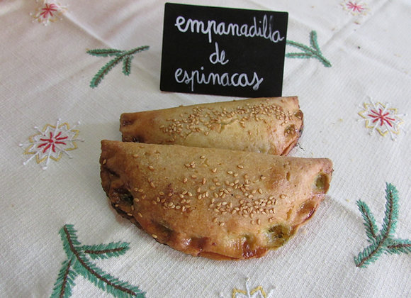 Empanadilla de espinacas