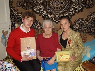 Посещение ветеранов на дому ВОВ, детей войны.
