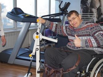 Новые тренажеры в обществе инвалидов г. Артема