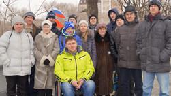 """Выезд инвалидов в кинотеатр """"Океан"""" во Владивостоке"""